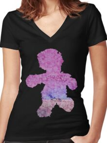 Breaking Bad - Pink Bear Women's Fitted V-Neck T-Shirt