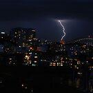 Lightning Flash - Sydney Australia by Neville Gafen