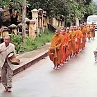Monks on the Move by Ethna Gillespie