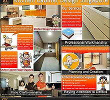 Kitchen Cabinet Design Singapore by DesignSingapor