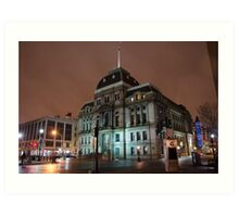 City Hall - Providence, Rhode Island Art Print