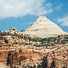 Capitol Dome at Capitol Reef by Kenneth Keifer