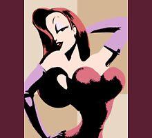 Jess  POP Art [ Who framed roger rabbit ? ] Unisex T-Shirt