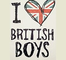 I Love British Boys by AllaBeck