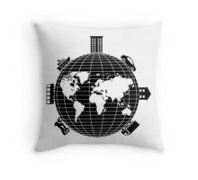 Transportation Throw Pillow