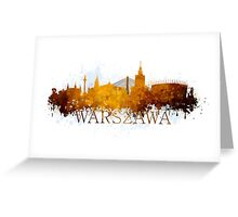 Warsaw Greeting Card