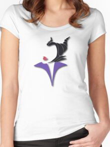 Magnificent Maleficent Women's Fitted Scoop T-Shirt