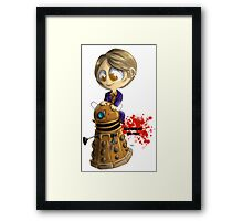 Exterminate the rude Framed Print