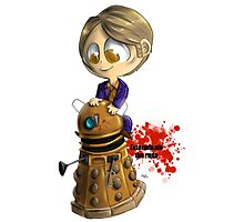 Exterminate the rude Photographic Print