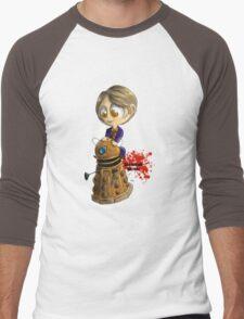 Exterminate the rude Men's Baseball ¾ T-Shirt