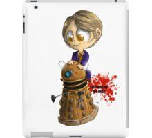 Exterminate the rude iPad Case/Skin