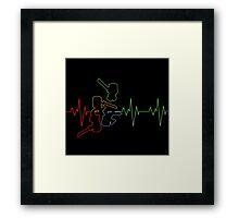 Heartbeat CastleCrashers Framed Print