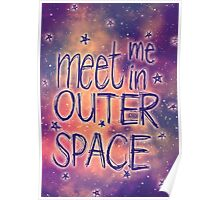 Meet me in outer space Poster