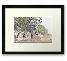 Abandoned Cottage Framed Print