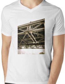 Chi Town Mens V-Neck T-Shirt