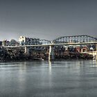 Early Morning Riverfront by LarryB007