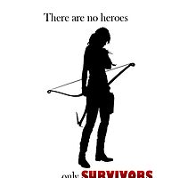 There are no heroes only survivors by KostaINurFACE