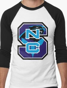 North Carolina Panthers Hornets Men's Baseball ¾ T-Shirt