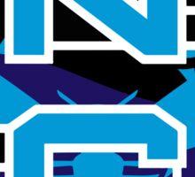 North Carolina Panthers Hornets Sticker