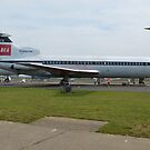 BEA Hawker Siddeley Trident Two by mike  jordan.