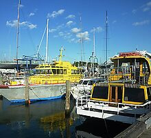 Big Boys Boats - Williamstown, Vic. Australia by EdsMum