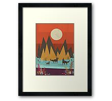 Wolves Framed Print