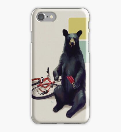 Summer Bear iPhone Case/Skin