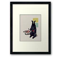 Summer Bear Framed Print