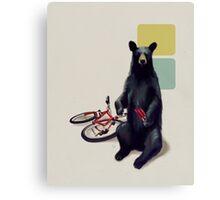 Summer Bear Canvas Print