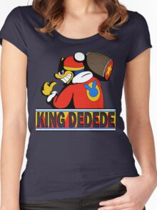 King Dedede Women's Fitted Scoop T-Shirt