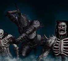 Dark Souls: Darkwraiths matted print by MenasLG