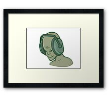 Zombie Music Framed Print