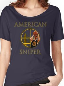 Steph Curry - American Sniper Women's Relaxed Fit T-Shirt