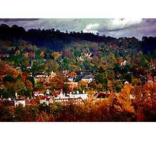 Colourful Reigate Photographic Print