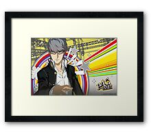 Persona 4 Golden Framed Print