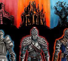 Dark Souls: Prepare To Die print by MenasLG