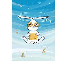 Postal Bunny Photographic Print