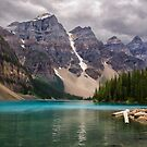 Moraine Lake - Banff National Park by Kathy Weaver