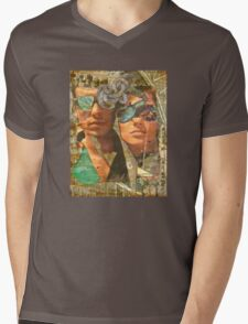 Honor Thy Father and Mother Mens V-Neck T-Shirt