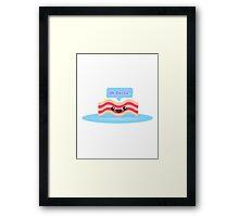 Im Bacon BACOONNNNN Framed Print