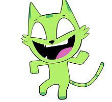Beast Boy Cat Dance (No Text Version) by Akuma Kira