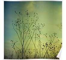 Ethereal Moment - Green tones Poster