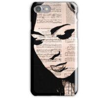 Love face iPhone Case/Skin
