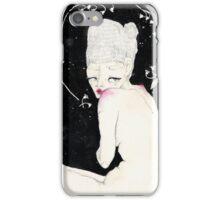 Space girl; illustration iPhone Case/Skin