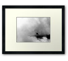 A Time to Burn Framed Print