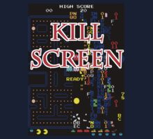 Pacman Kill Screen by HalfFullBottle
