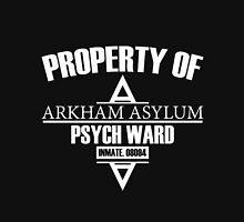 Arkham Asylum // Psych Ward Inmate Design // White Font Unisex T-Shirt