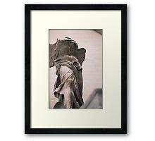 Nike of Samothrace Framed Print