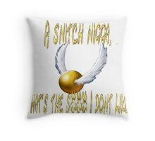 Snitches suck Throw Pillow