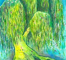 Mother's Willow by Elaine Smith